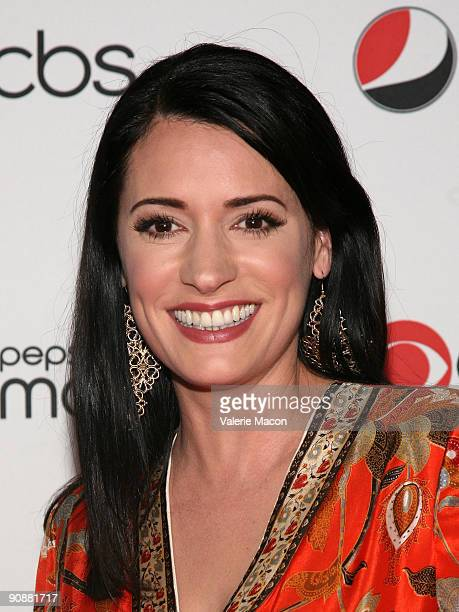 Actress Paget Brewster arrives at the CBS' New Season Celebration on September 16 2009 in Los Angeles California