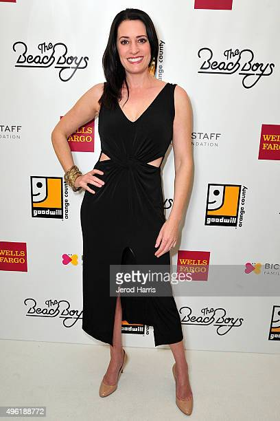 Actress Paget Brewster attends the 2nd Annual Goodwill Gala at Laguna Cliffs Marriott on November 7 2015 in Dana Point California