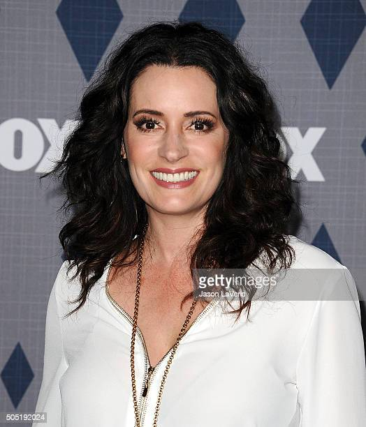 Actress Paget Brewster attends the FOX winter TCA 2016 AllStar party at The Langham Huntington Hotel and Spa on January 15 2016 in Pasadena California