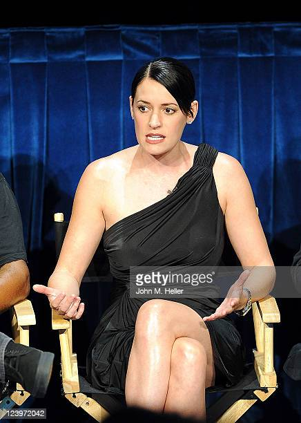 Actress Paget Brewster attends the PaleyFest Fall TV Preview Party of the CBS show Criminal Minds at the Paley Center For Media on September 6 2011...