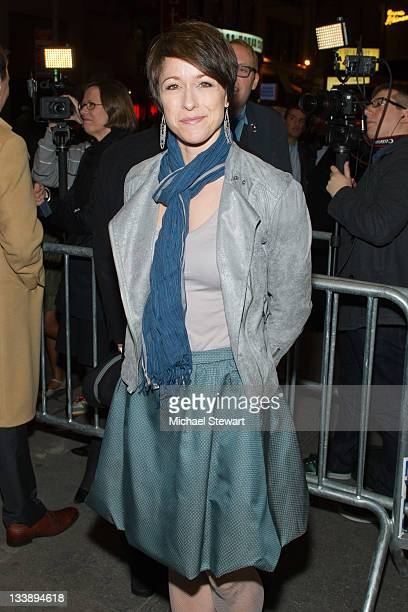 Actress Paige Davis attends An Evening with Patti Lupone and Mandy Patinkin Broadway opening night at the Ethel Barrymore Theatre on November 21 2011...