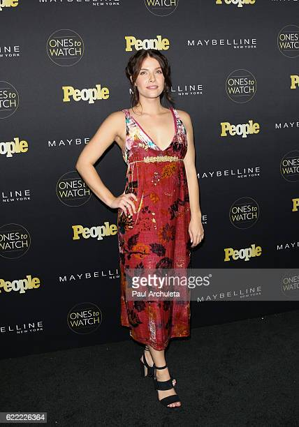 Actress Paige Spara attends People's Ones To Watch at EP LP on October 13 2016 in West Hollywood California
