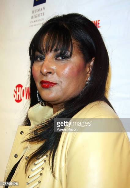 Actress Pam Grier arrives at the Season 5 Premiere Party For L Word at The Factory on January 6 2008 in Los Angeles California