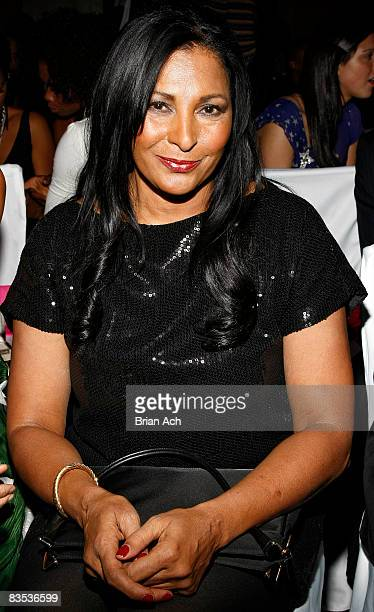 Actress Pam Grier attends the 3rd Annual Black Girls Rock Awards at the Stanley H Kaplin Penthouse at Lincoln Center on November 2 2008 in New York...