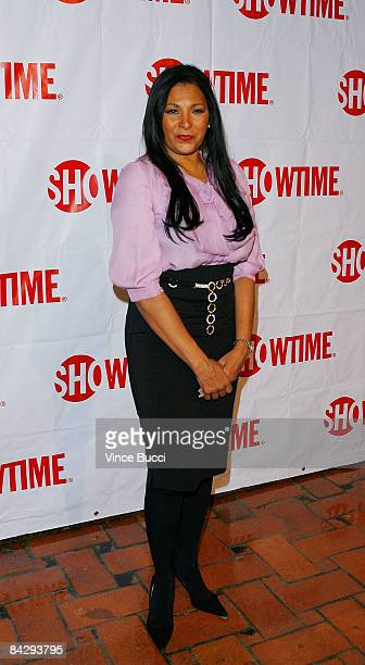 Actress Pam Grier attends the CBS and Showtime Network's Winter Television Critics Association Party on January 14 2009 in Hollywood California