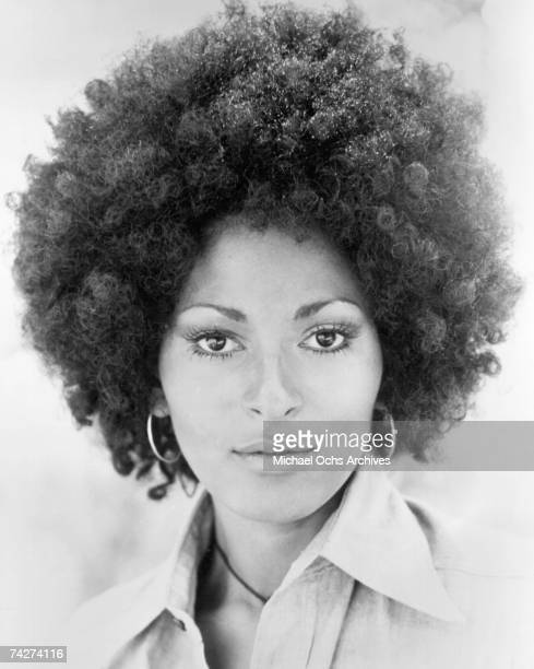 Actress Pam Grier poses for a photo circa 1972 in Los Angeles California