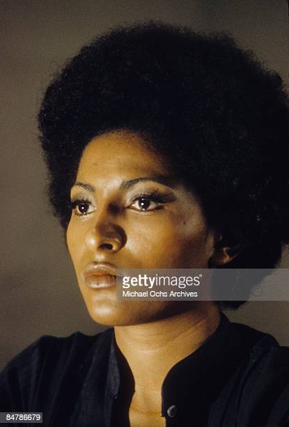 Actress Pam Grier poses for a photo circa 1972 in Los Angeles, California.