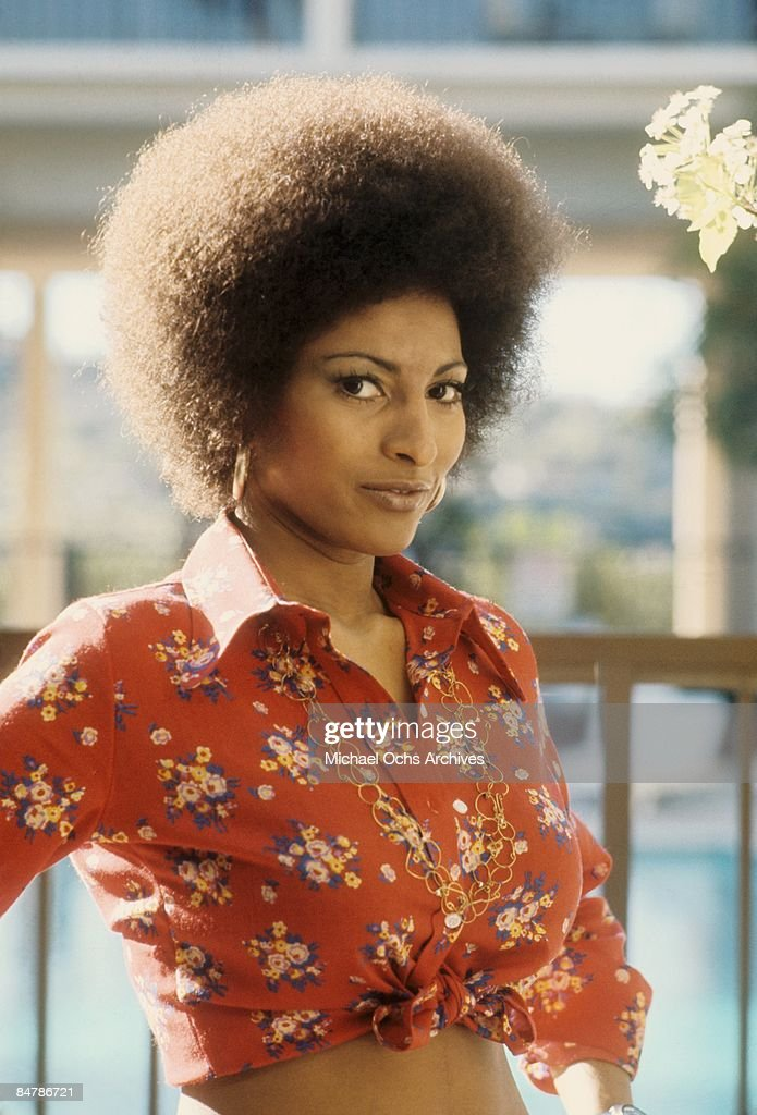 Pam Grier Portrait Session : News Photo