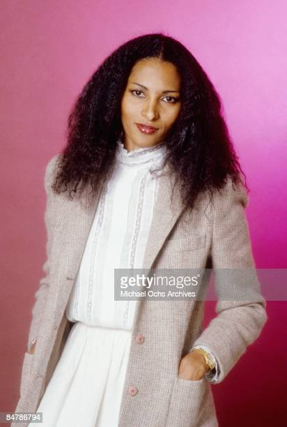 Actress Pam Grier poses for a photo on December 8 1980 in Los Angeles California