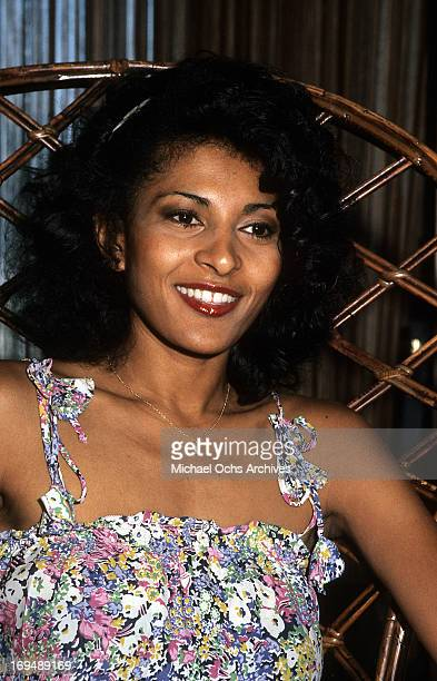 Actress Pam Grier poses for a portrait in circa 1977