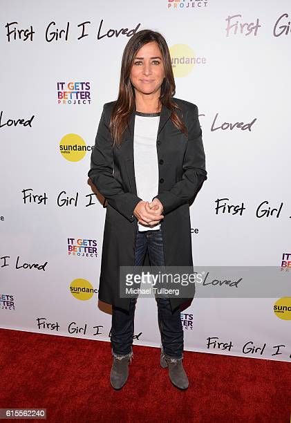 Actress Pamela Adlon attends the premiere of PSH Collective's 'First Girl I Loved' at the Vista Theatre on October 18 2016 in Los Angeles California