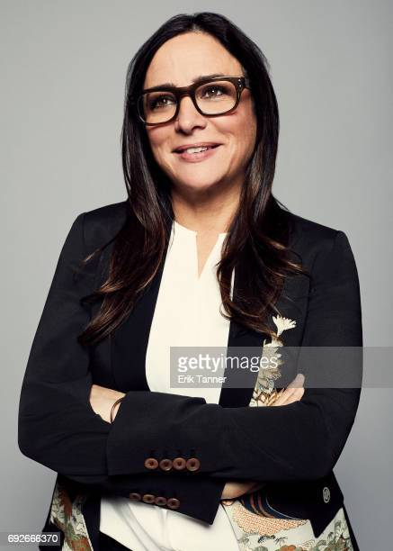 Actress Pamela Adlon is photographed at the 76th Annual Peabody Awards at Cipriani Wall Street on May 20 2017 in New York City