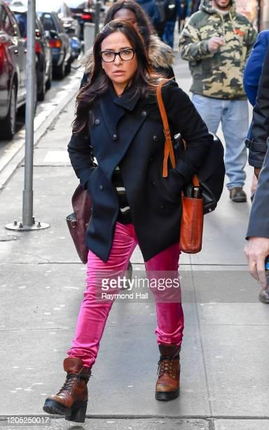Actress Pamela Adlon is seen on March 4, 2020 in New York City.