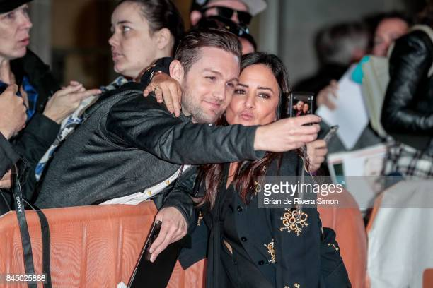 Actress Pamela Adlon meets with fans at the 'I Love You Daddy' premiere during the 2017 Toronto International Film Festival at Ryerson Theatre on...