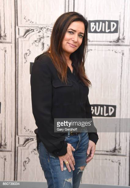 Actress Pamela Adlon visits the Build Series to discuss her show 'Better Things' at Build Studio on September 21 2017 in New York City