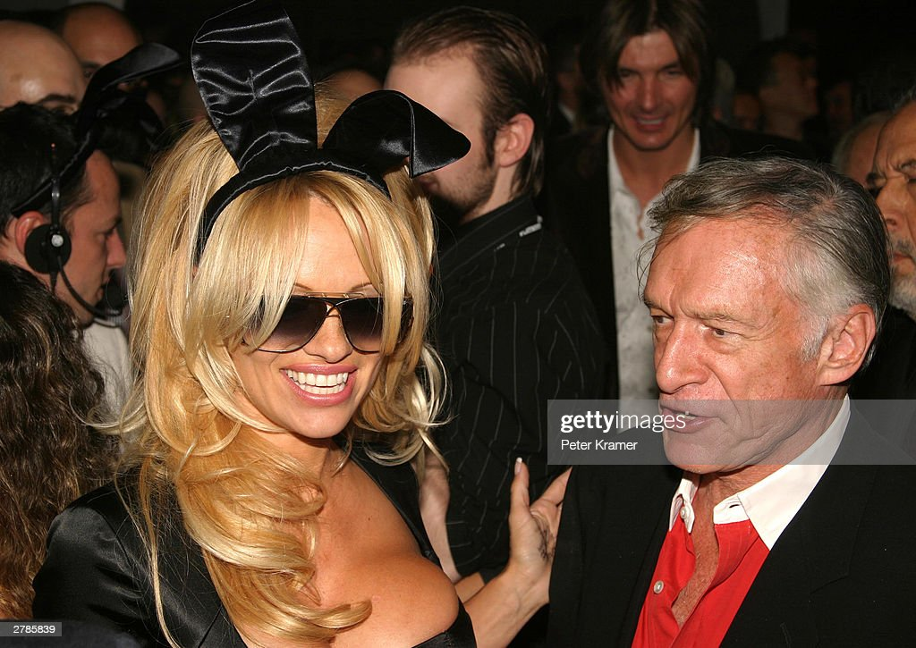 Playboy's 50th Anniversary Party in New York