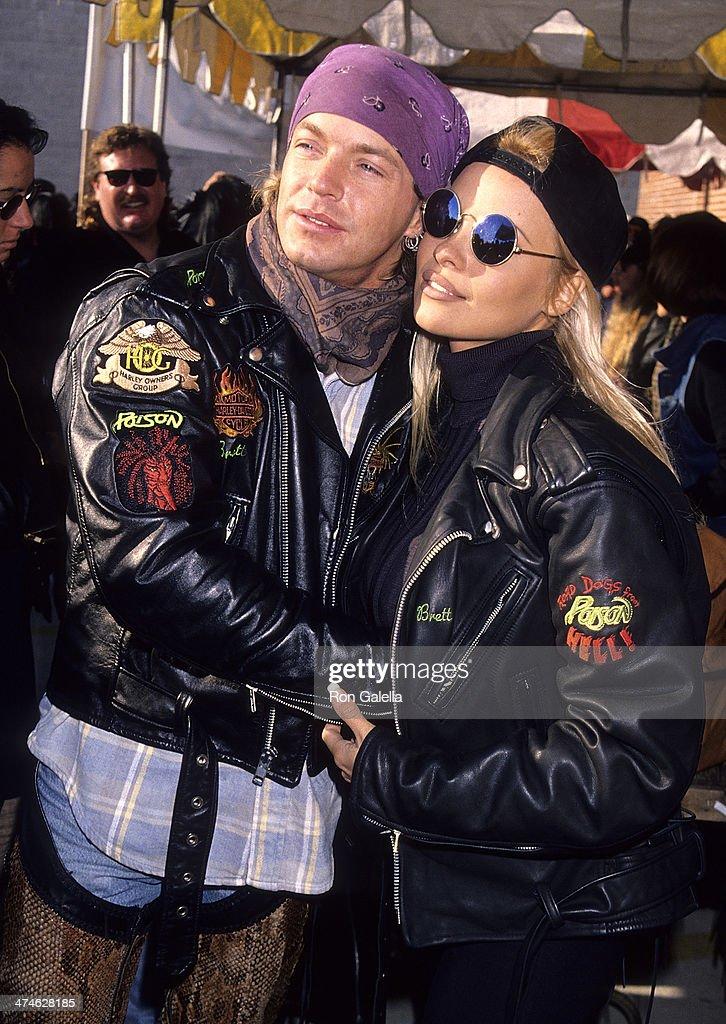 Brett Michaels Pamela Anderson