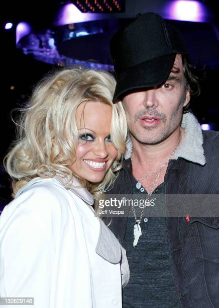 Actress Pamela Anderson and Photographer David LaChapelle attend 2011 MOCA Gala An Artist's Life Manifesto Directed by Marina Abramovic at MOCA Grand...