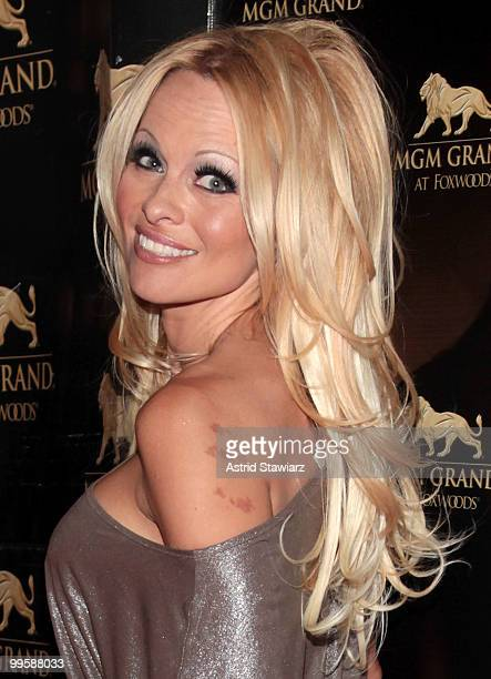 Actress Pamela Anderson attends the 2nd Anniversary celebration at MGM Grand at Foxwoods on May 15 2010 in Mashantucket Connecticut
