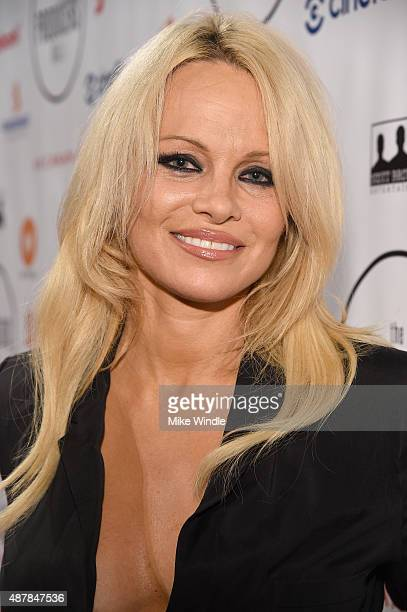 Actress Pamela Anderson attends the 5th Annual Producers Ball presented by Scotiabank in support of The 2015 Toronto International Film Festival at...