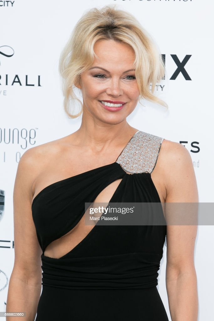 Actress Pamela Anderson attends the Amber Lounge Fashion Monaco 2017 at Le Meridien Beach Plaza Hotel on May 26, 2017 in Monaco, Monaco.