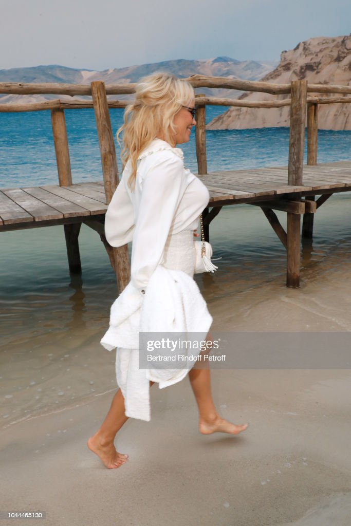 Chanel : Front Row - Paris Fashion Week Womenswear Spring/Summer 2019 : Foto di attualità