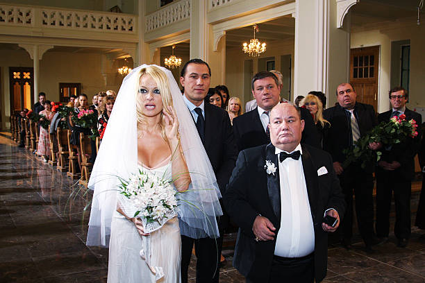 Pamela Anderson Music Video Shoot in Moscow Photos and Images ...