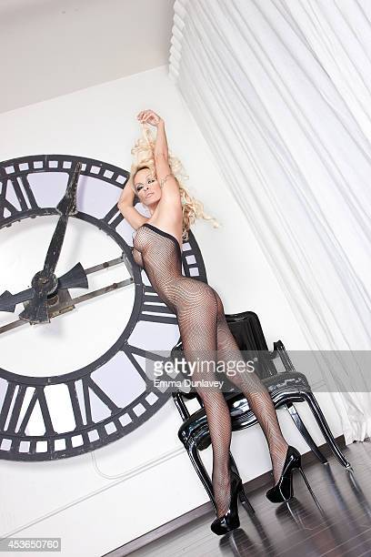 Actress Pamela Anderson is photographed for Spec on May 1 2011 in Hollywood California