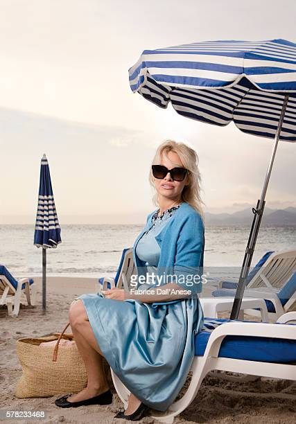 Actress Pamela Anderson is photographed for Stern Magazine on May 15, 2016 in Cannes, France.
