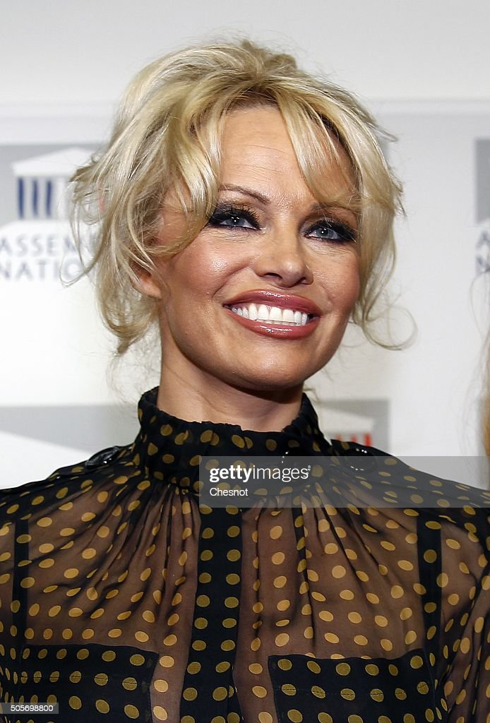 Pamela Anderson Is Invited To The France National Assembly To Support A Bill Against Force Feeding Animals