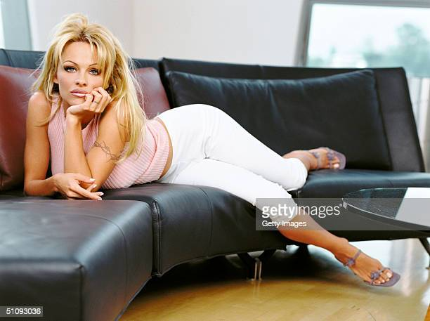 Actress Pamela Anderson Stars As Vallery Irons In The Syndicated Television Series VIP