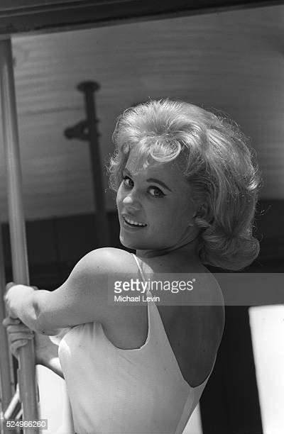 Actress Pamela Austin in Hollywood