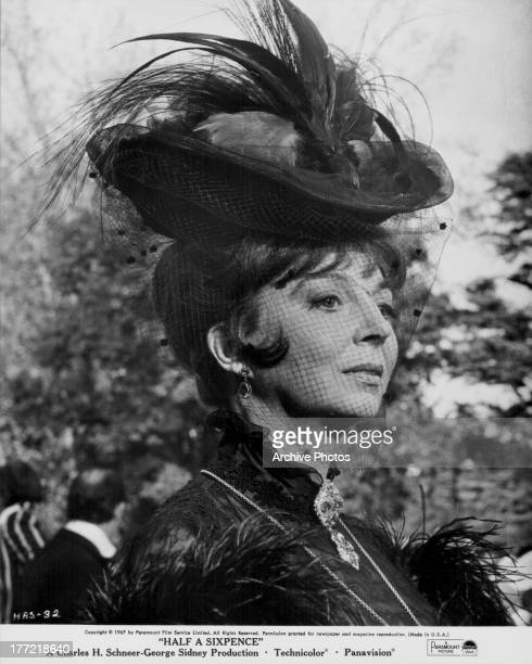 Actress Pamela Brown in a scene from the movie 'Half a Sixpence' 1967