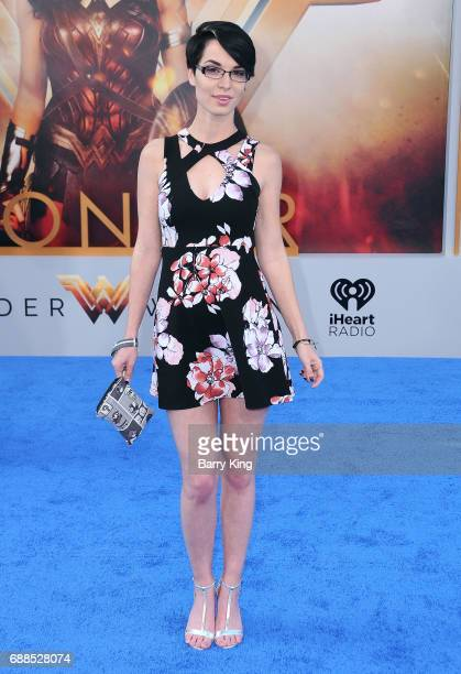 Actress Pamela Horton attends the World Premiere of Warner Bros Pictures' 'Wonder Woman' at the Pantages Theatre on May 25 2017 in Hollywood...