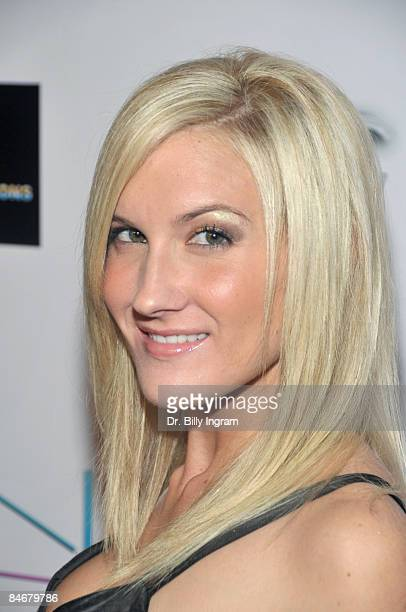 Actress Pamela Jean attends American Voodoo Records' PreGrammy's Celebration at The Kress on February 6 2009 in Hollywood California