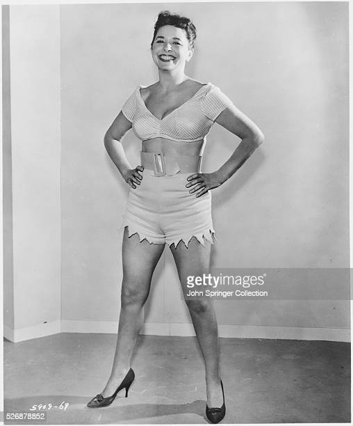 Actress Pamela Mason wife of star James Mason as Dr Myrtle Carter in the 1960 comedy Sex Kittens Go to College
