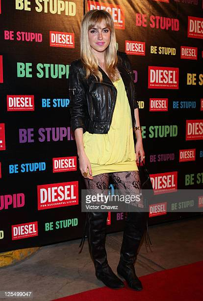 Actress Pamela Reiter attends the Diesel Be Stupid Party at General Prim on December 2 2010 in Mexico City Mexico
