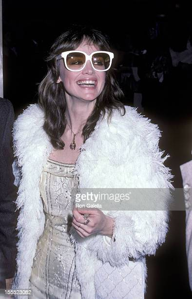 Actress Pamela Sue Martin attends the Dynasty Second Season WrapUp Party on March 28 1982 at Beverly Hills Hotel in Beverly Hills California