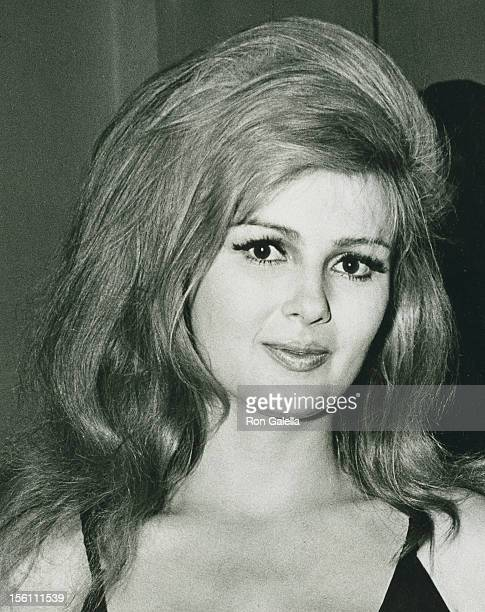 Actress Pamela Tiffin attending the premiere party for 'A Man and a Woman' on June 1 1966 at the Living Room in New York City New York