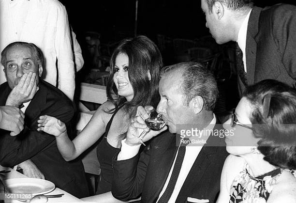 Actress Pamela Tiffin attends 'Golden Awards In Film Gala' on October 22 1969 at the Brigadoon in Rome Italy