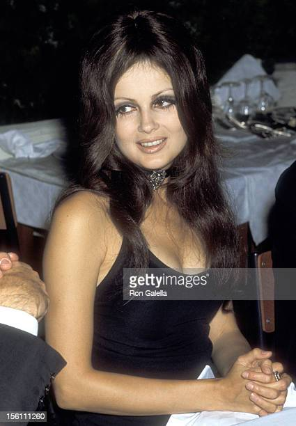 Actress Pamela Tiffin attends the Golden Awards in Film on October 22 1969 in Rome Italy