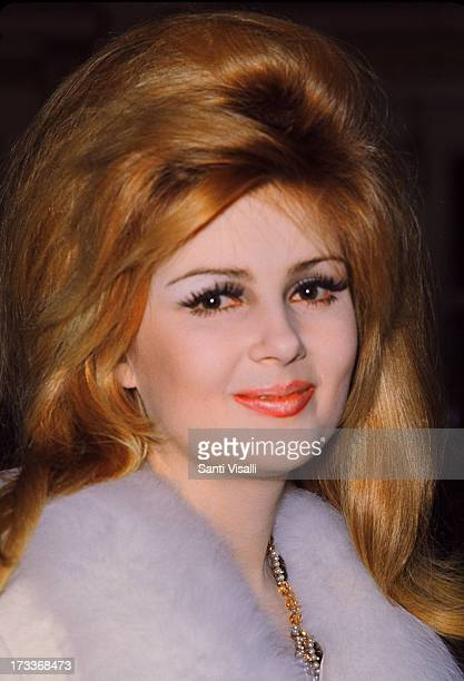 Actress Pamela Tiffin posing for a portrait on December 101967 in New York New York