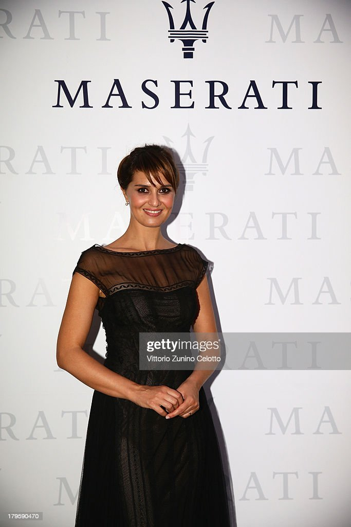 Actress Paola Cortellesi attends the 70th Venice International Film Festival at Terrazza Maserati on September 5, 2013 in Venice, Italy.