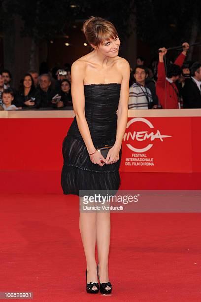 Actress Paola Cortellesi attends the Le Cose Che Restano Premiere during the 5th International Rome Film Festival at the Auditorium Parco Della...