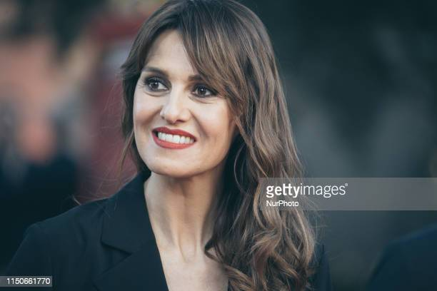 Actress Paola Cortellesi walks on the red carpet during theCiak D'Oro Awards Ceremony at Link Campus University on June 18 2019 in Rome Italy