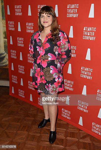 Actress Paola LazaroMunoz attends the 2016 Atlantic Theater Company Actors' Choice Gala at The Pierre Hotel on March 7 2016 in New York City