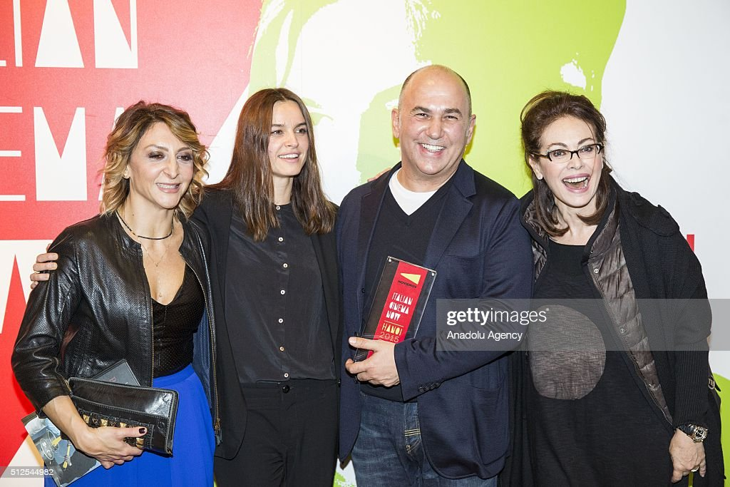 Night event in Rome for Ferzan Ozpetek for the movie 'Allacciate le Cinture' : News Photo