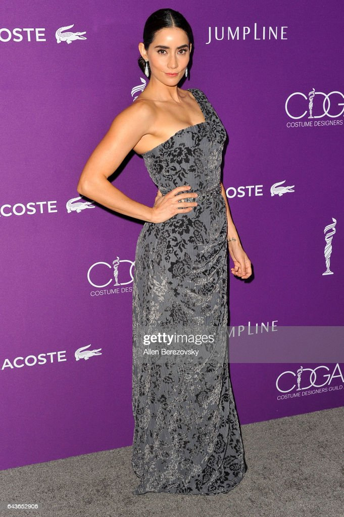 Actress Paola Nunez attends the 19th CDGA (Costume Designers Guild Awards) at The Beverly Hilton Hotel on February 21, 2017 in Beverly Hills, California.