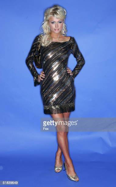Actress Paris Hilton poses for a portrait during the 2004 Billboard Music Awards at the MGM Grand Garden Arena on December 8 2004 in Las Vegas Nevada