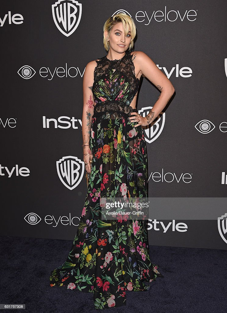 Actress Paris Jackson arrives at the 18th Annual Post-Golden Globes Party hosted by Warner Bros. Pictures and InStyle at The Beverly Hilton Hotel on January 8, 2017 in Beverly Hills, California.